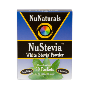 NuNaturals stevia endulzante natural