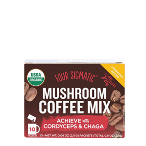 Four Sigmatic Muchroom Coffee Mix With Cordyceps Chaga